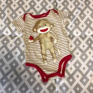 Other - Adorable Sock Monkey Onesie